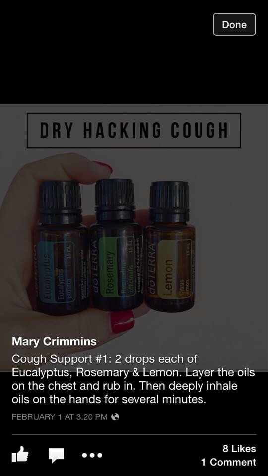 Best Natural Remedy For Hacking Cough