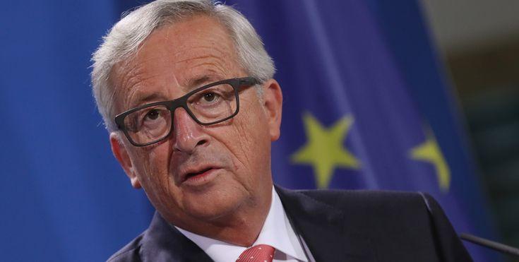 EU head Jean-Claude Juncker slams commissioner over 'shocking' gay marriage joke