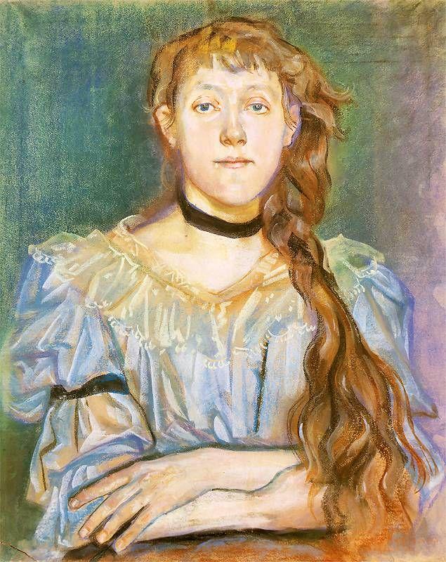 Stanisław Wyspiański, Maria Waśkowska - portrait, 1894