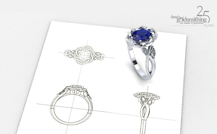 Contact us today about #custom #designing a new #ring, #necklace, #bracelet or #earrings made just for you! At Dana's Goldsmithing, we also specialize in #redesigning your current jewellery into a new piece. Makes a truly one-of-a-kind #gift this Holiday season.   Custom #jewellery specialists for over 25 years. Learn more: https://www.danasgoldsmithing.com/collections/custom-jewellery
