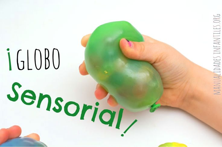 Creando #Actividadesdepreescolar  muy #Sensoriales utilizando bolitas Orbeez y globos!