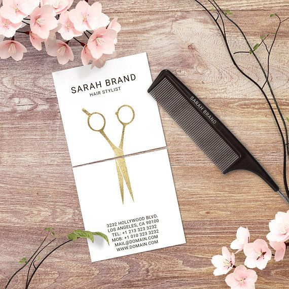 Hair Stylist Business Card Template Square 2 5 X Etsy Hair Stylist Business Cards Design Hairstylist Business Cards Stylist Business Cards