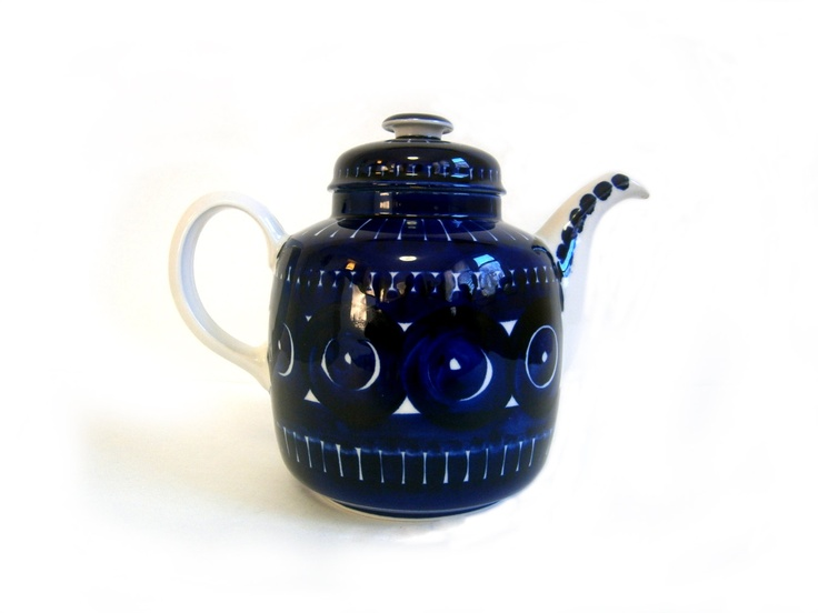Arabia Finland Valencia Teapot Ulla Procope