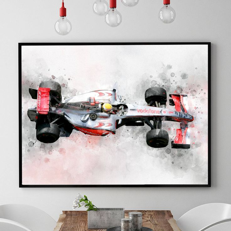 Formula 1 Art, Formula 1 Print, Formula One Art, Formula 1 Poster, Formula 1 Wall, Race Car Decor, Kids Room Wall Art, Speed Racer (N320) by PointDot on Etsy