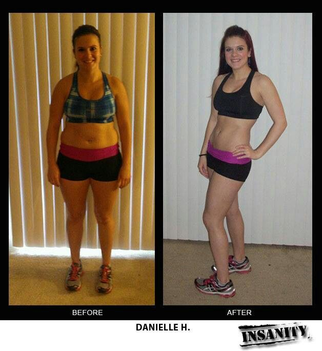 Insanity before and after | Fitspiration | Pinterest ...