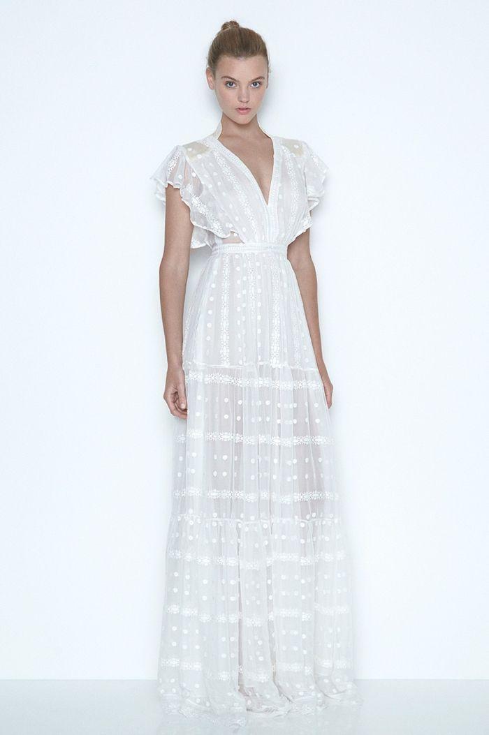 Vestidos blancos ibicencos largos