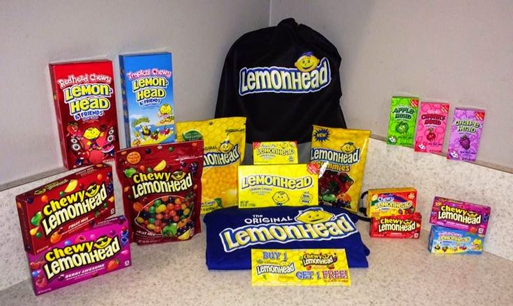 Mommy Katie: #Giveaway Lemonhead Candy Prize Pack