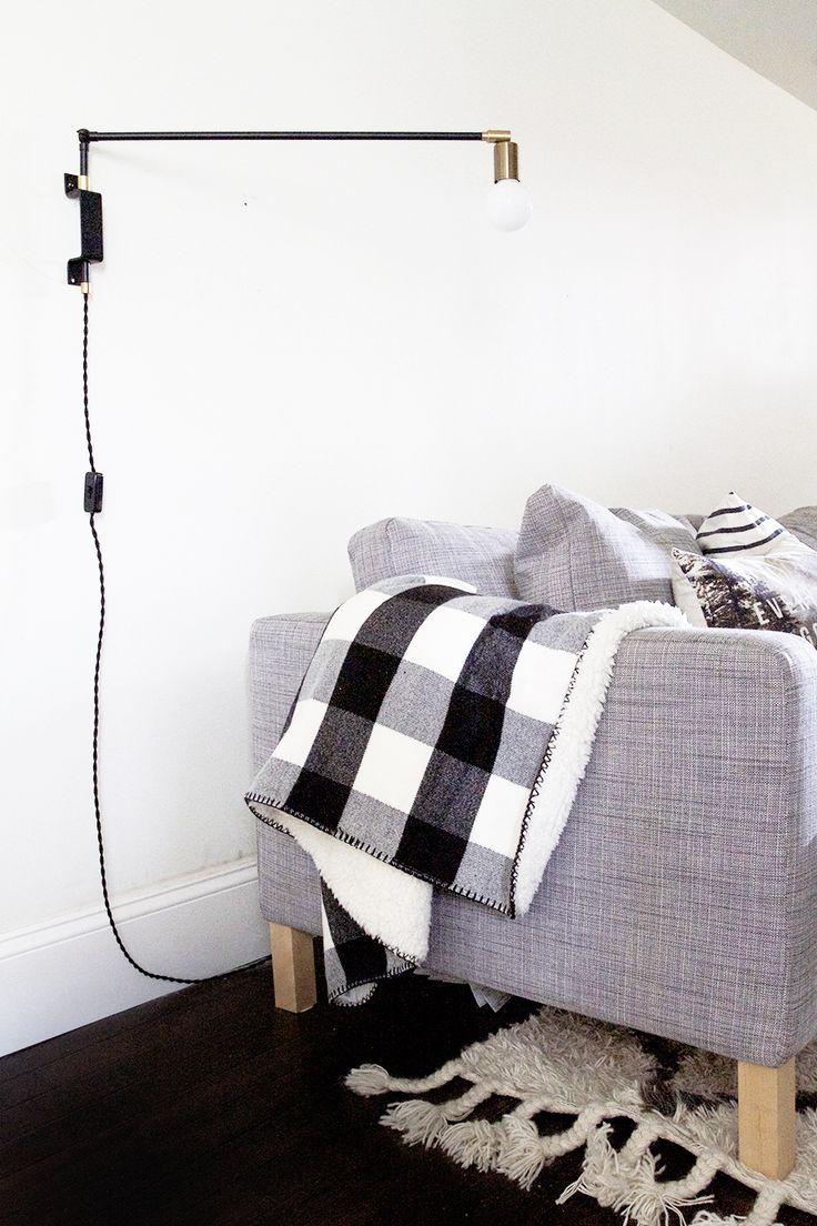 DIY Swing Arm Lamp