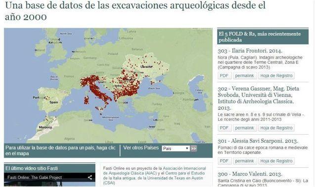 España se suma al proyecto arqueológico Fasti Online gracias a la Universidad