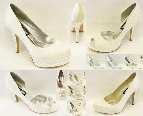 Veeeel nieuwe trouwschoenen binnen! En niet duur - vanaf Euro 39,95 *** New weddingshoes are in! Starting from Euro 39,95 www.silhouette.nl