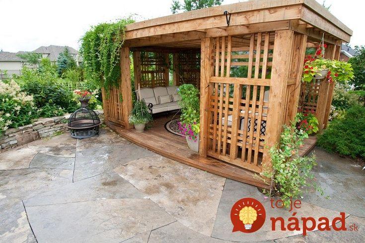 15 inšpirácií na prenádherné altánky do malých aj veľkých záhrad!