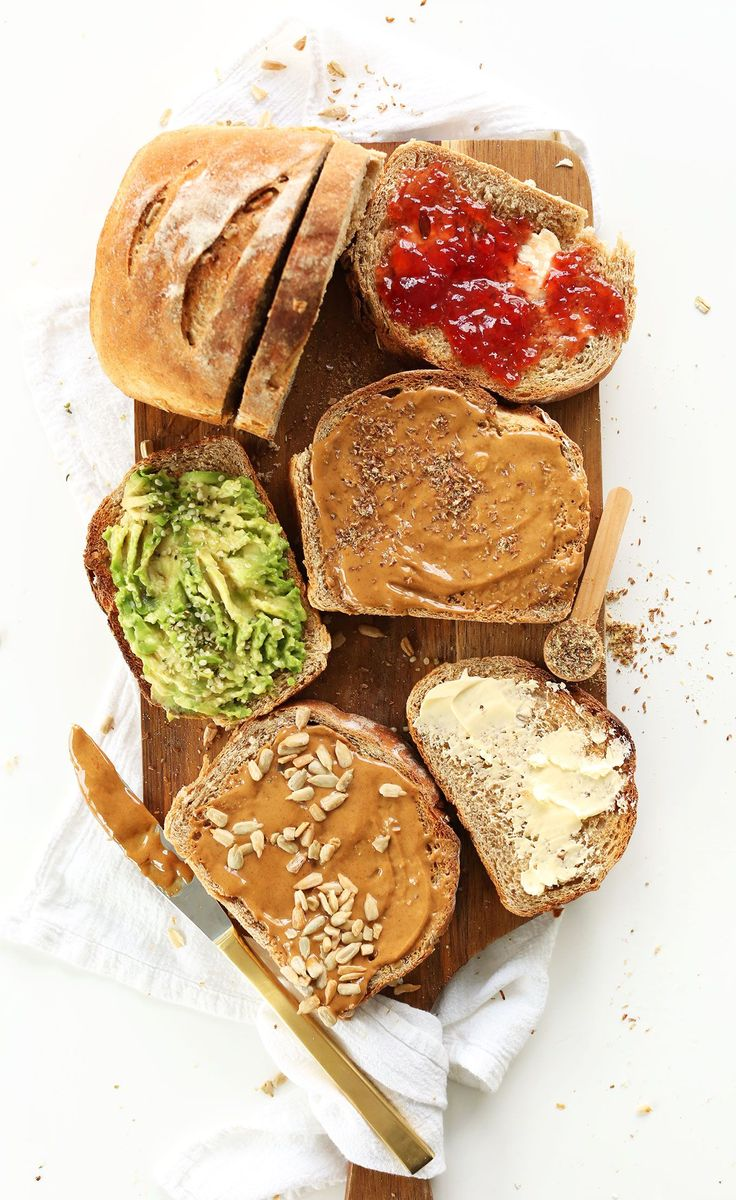 EASY Whole Grain Seeded Bread perfect for sandwiches, toast, and more! #vegan #minimalistbaker