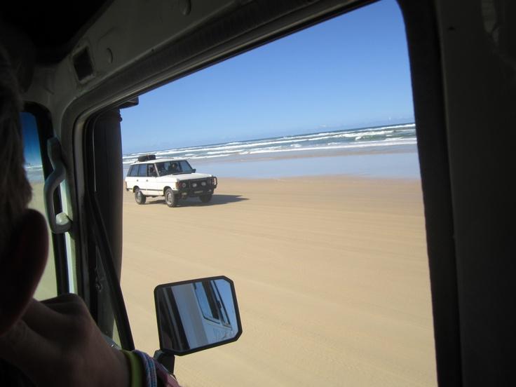4x4ing Fraser Island, Oz