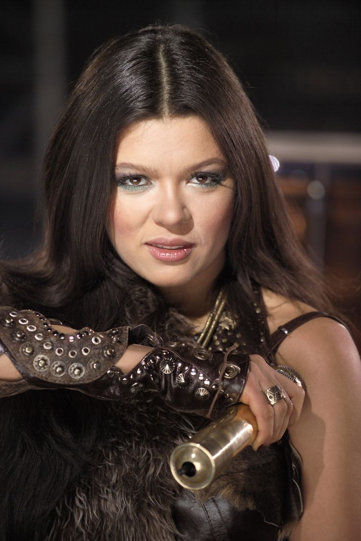 "Ruslana, Ukranian singer won the Eurovision 2004 with her ""Wild Dances"""