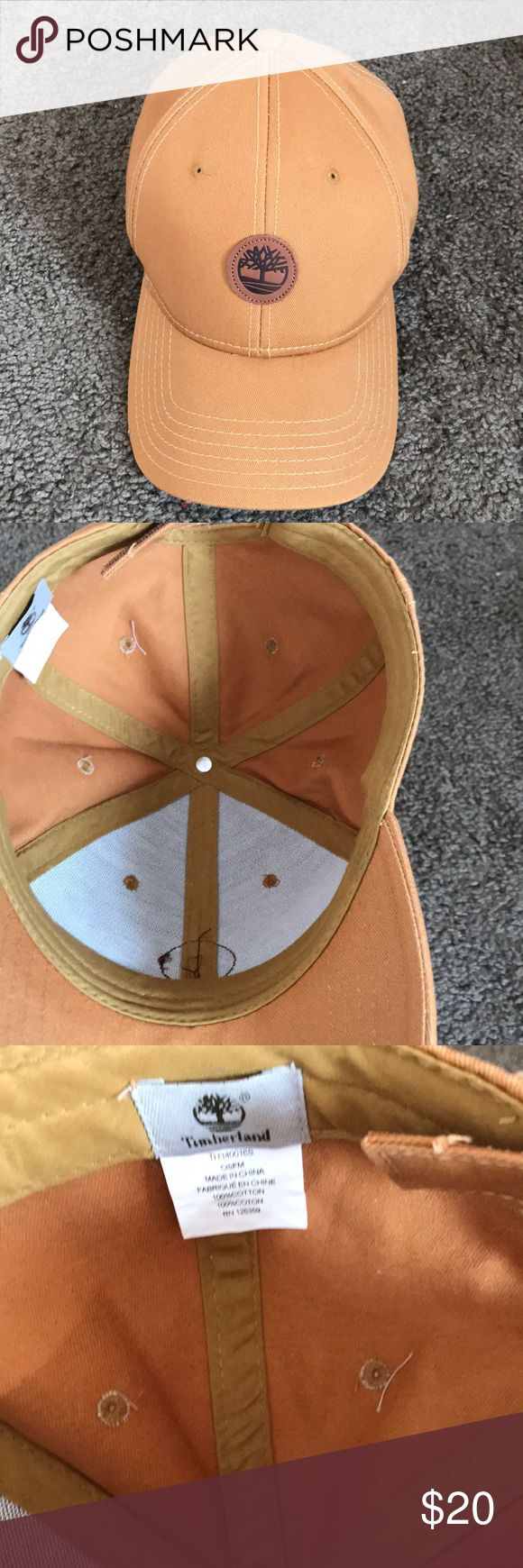 Timberland adjustable hat Cute on the go Timberland Hat! Timberland Accessories Hats