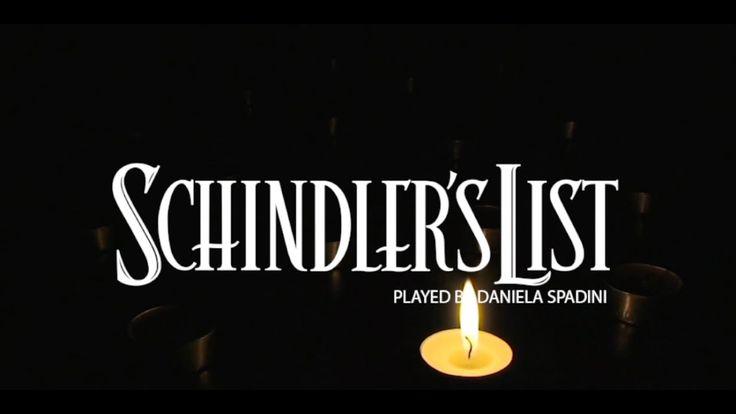 Theme from Schindler's list - John Williams - Pianoforte: Daniela Spadini