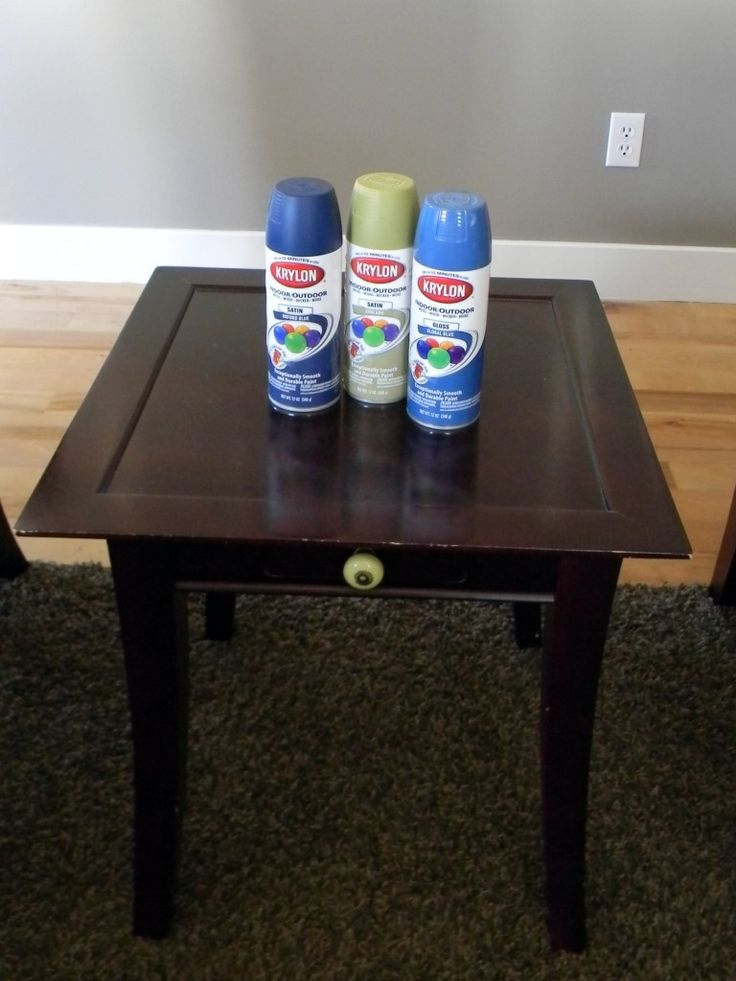 Spray Painted Furniture 027 Diy Spray Paint Pinterest Painting Furniture Nu 39 Est Jr And