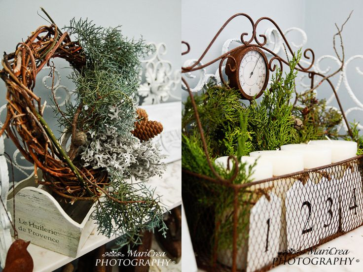 CreaMariCrea: Decorazioni natalizie - Waiting for Christmas