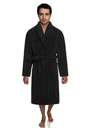 4e855ca0e6 Plush Coral Fleece Shawl Collar Kimono Bath Spa Robe