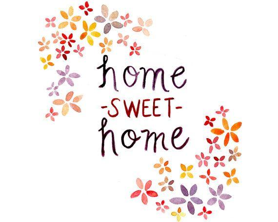 ~ Home Sweet Home Printable ~