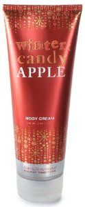 Bath & Body Works Holiday Traditions Winter Candy Apple Body Cream 8 oz (226 g) by Bath & Body Works. Save 23 Off!. $9.99. Crisp Apple, Sweet Orange and Pineapple Mingle with Cinnamon Spice. Nourishing Avocado Oil, Smoothing Fruit Enzymes, Conditioning Calendula, & Almond Oils. Durable 8 oz Tube with Flip Top Cap. Bath and Body Works Holiday Traditions Collection. Fragrant Body Cream Nourishes and Softens Even the Driest Skin. Bath & Body Works Holiday Traditions Winter Cand...