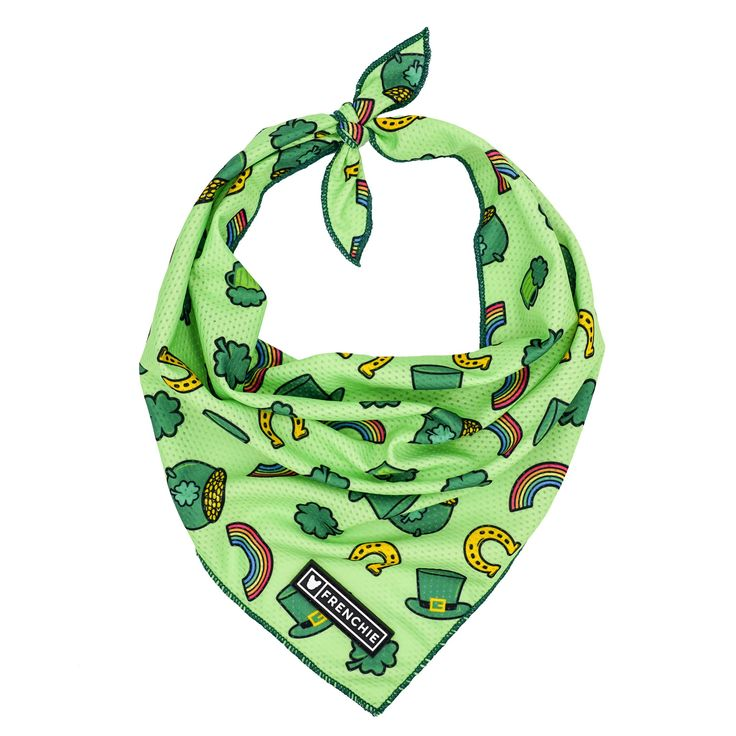 Frenchie Cooling Bandana - Get Lucky