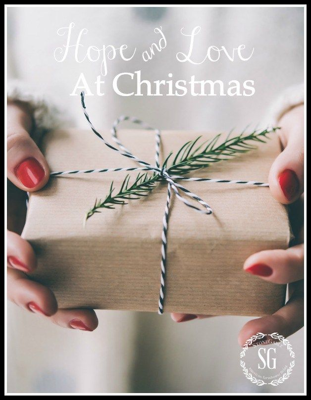 HOPE AND LOVE AT CHRISTMAS- The true meaning of hope and love during Advent