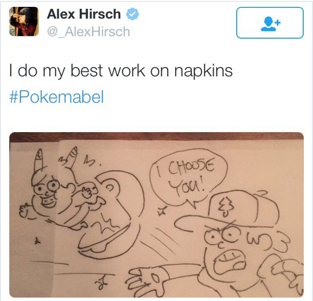Alex Hirsch Twitter|| Long live the nerd, Gravity Falls