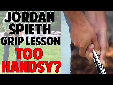 JORDAN SPIETH PUTTING GRIP LESSON | Are You Too Handsy? - YouTube