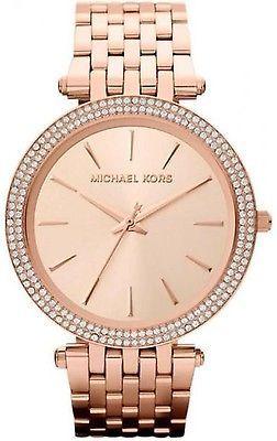 [$104.99 save 59%] Michael Kors Women's Darci MK3192 Rose-Gold Stainless-Steel Analog Quartz Watch #LavaHot http://www.lavahotdeals.com/us/cheap/michael-kors-womens-darci-mk3192-rose-gold-stainless/169610?utm_source=pinterest&utm_medium=rss&utm_campaign=at_lavahotdealsus