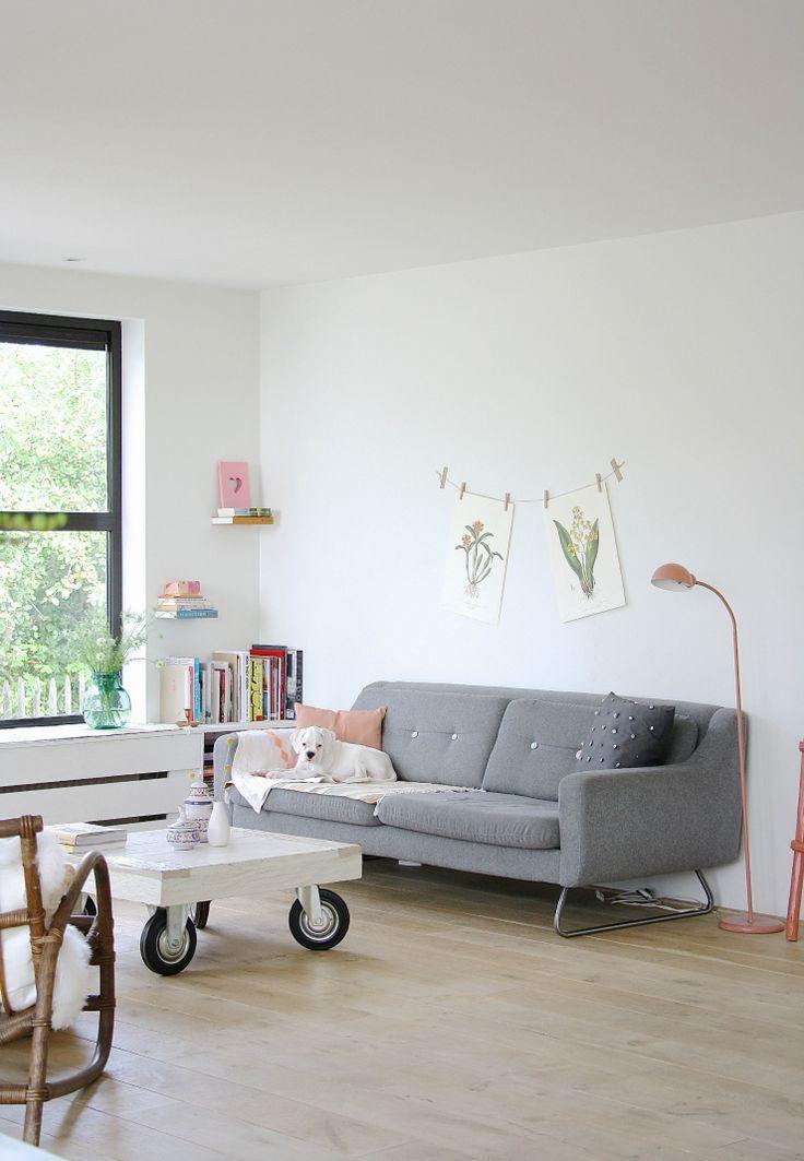 Cómo pintar una pared de interior | La Bici Azul: Blog de decoración, tendencias, DIY, recetas y arte