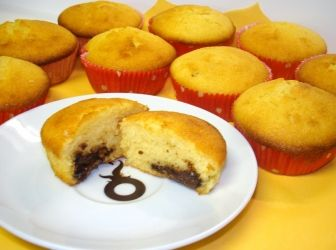 Nutellás muffin recept