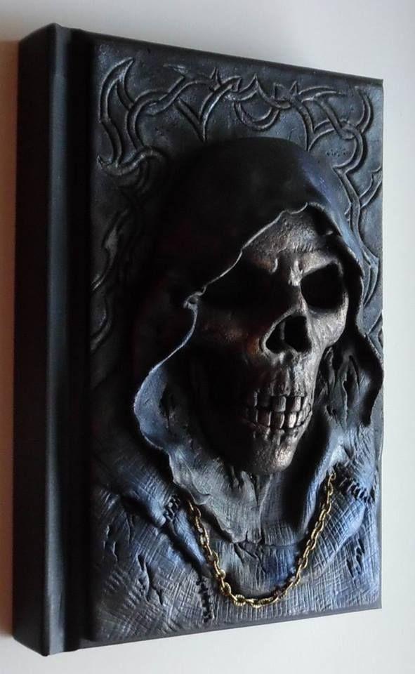 Halloween altered book by Wojciech Chowaniec…