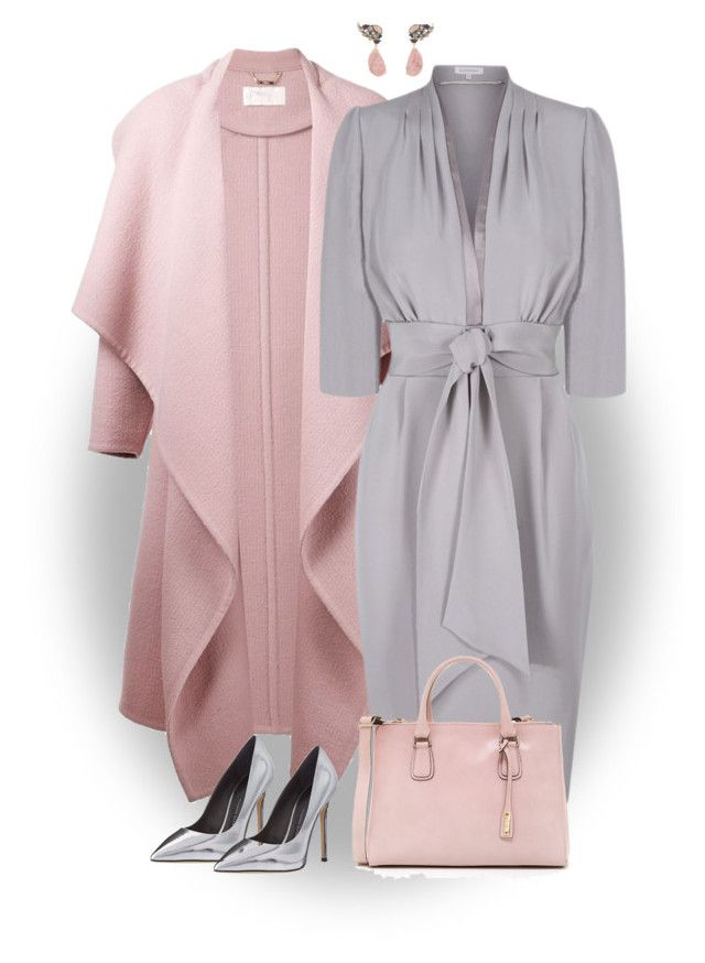 Little Gray Dress--OUTFIT ONLY by ginga1203 on Polyvore featuring Chloé, Giuseppe Zanotti, Abro and Nak Armstrong