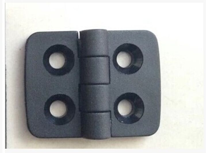 10PCS/set ABS the nylon plastic hinge 40 * 30 black plastic hinge hinges large spot free shipping