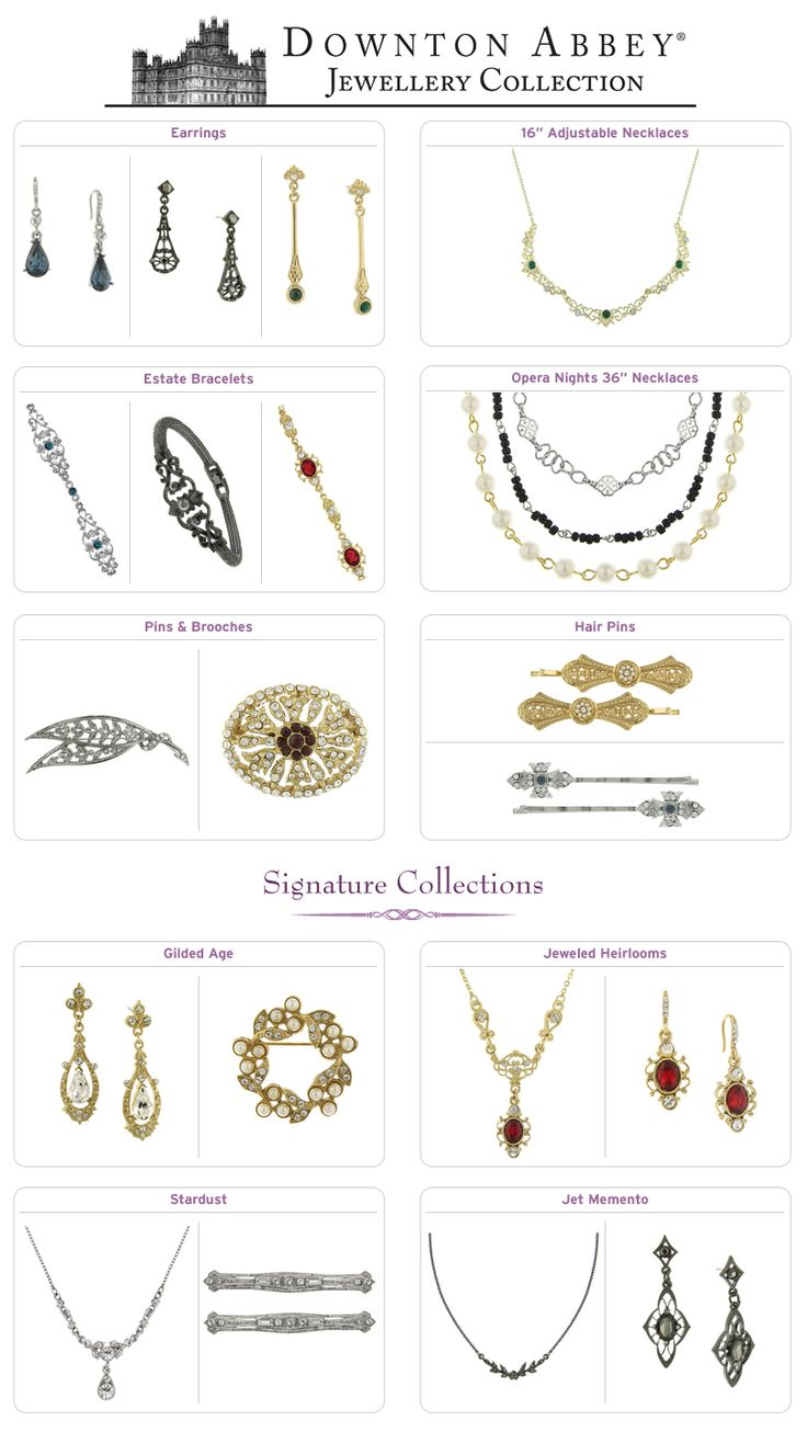 Shop PBS - New Collections: Downton Abbey Jewelry !!!!!!! so excited!
