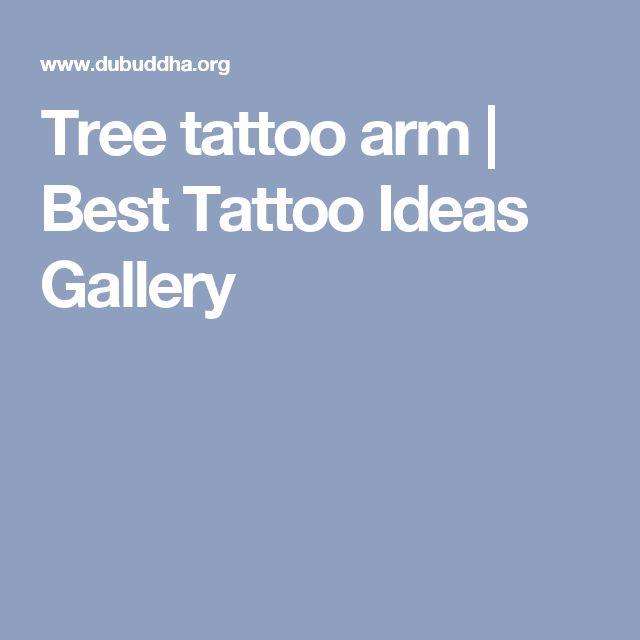 Tree tattoo arm | Best Tattoo Ideas Gallery