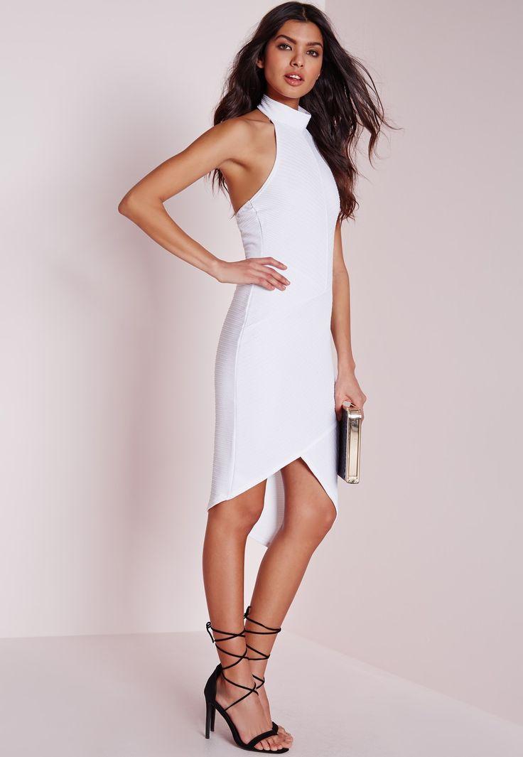Black and white bodycon dress no dress qatar lycra run