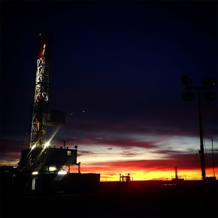 Drilling at Dusk - Oilpro.com