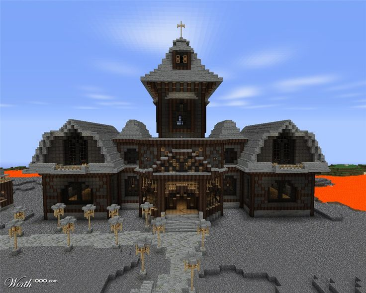 The house of horrors worth1000 contests minecraft for Minecraft foyer ideas