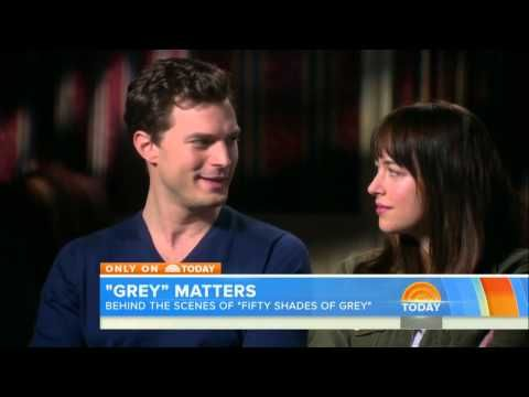 Fifty Shades Behind the Scenes Interview on the Today Show - YouTube