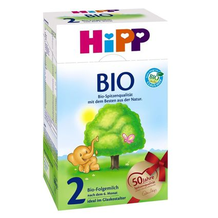 HIPP BIO Organic Stage 2 Suitable from six months onward. HIPP Bio Organic Stage 2 is the latest generation tailored to the particular nutritional requirements of infants at risk of allergies. The mechanism of formation plays a decisive role with an allergy to cow milk proteins. #breastmilk #babycare #babyfood #infant #babyformula #formula #hipp #glutenfree