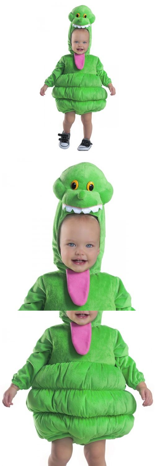 Halloween Costumes Kids: Ghostbusters Slimer Costume Ghostbusters Halloween Fancy Dress -> BUY IT NOW ONLY: $49.89 on eBay!