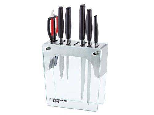 Knife Block Set - Stainless Steel (Excl. Fusion Knife) AUD$325.00 Update your knife collection and save!