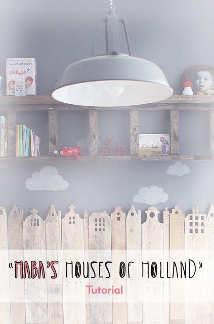 de creatieve uitspattingen van een jonge moeder : HaBa's Houses of Holland TUTORIAL NL/ENG