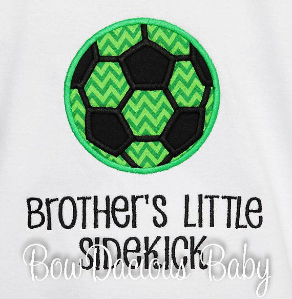 Boy's Soccer Shirt Personalized Soccer Shirt by bowdaciousbaby