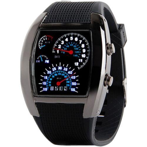 En barganero tenemos relojes #baratos. Reloj Digital Sport LED Negro