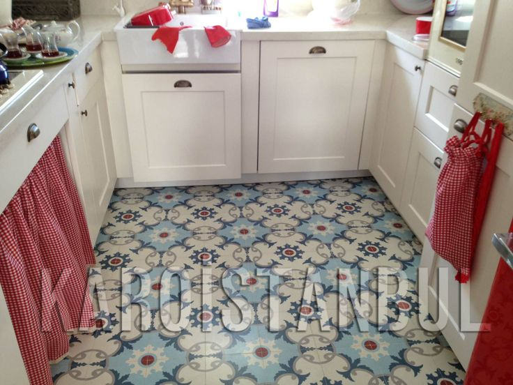 Kitchen Flooring Ideas ; Karoistanbul will be grateful to produce the tiles which you dream.