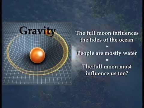Does the Full Moon Change Human Behavior? - YouTube