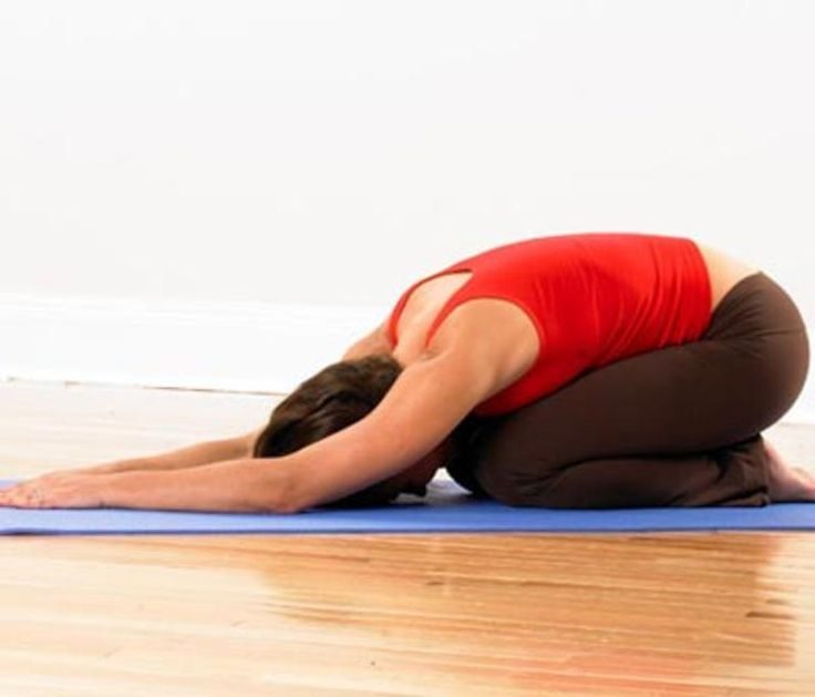 Child's Pose http://www.rodalewellness.com/fitness/5-yoga-poses-to-soothe-back-pain/childs-pose
